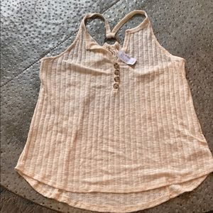 Maurices knit Tank Top - L - NWT